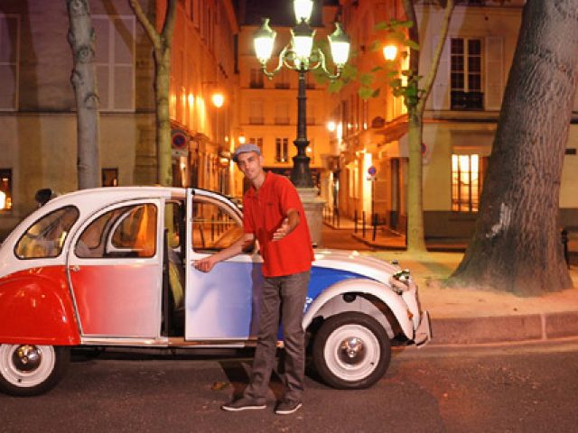 Paris en Citroen 2 CV